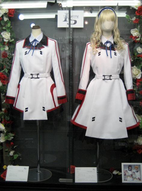 「IS <インフィニット・ストラトス>」女子制服、期間限定で展示決定!