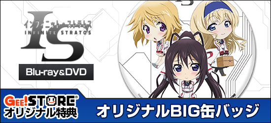 IS<インフィニット・ストラトス>2 OVA ワールド・パージ編 Blu-ray&DVD ジーストア&WonderGOO&新星堂オリジナル特典付きでご予約受付中!