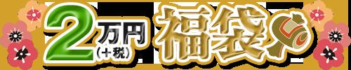 2万円(+税)福袋