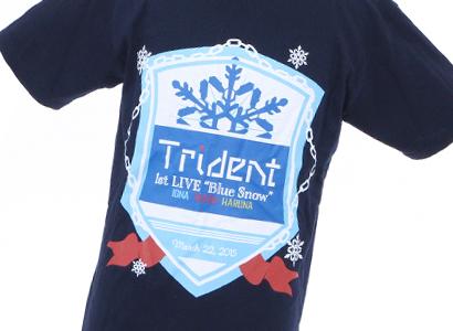 "Trident 1st LIVE ""Blue Snow"" Tシャツ"