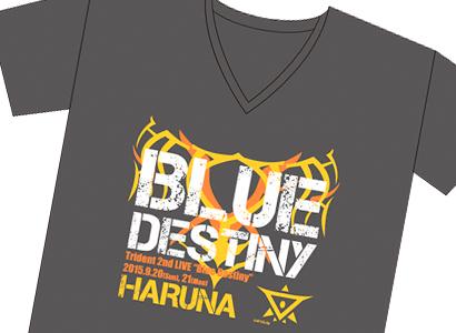 Trident 2nd LIVE ハルナ Tシャツ
