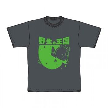 『霧くまs』野生の王国Tシャツ